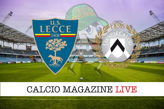 Lecce-Udinese, parla Gotti: