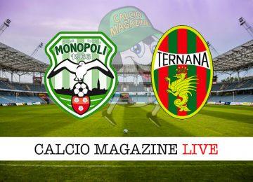 Monopoli Ternana cronaca diretta live risultato in tempo reale