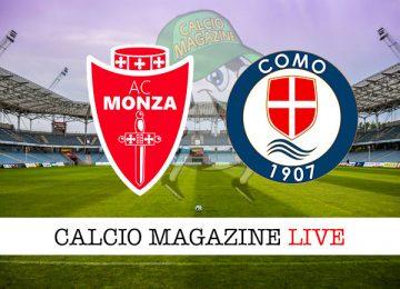 Monza Como cronaca diretta live risultato in tempo reale