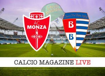 Monza Pro Patria cronaca diretta live risultato in tempo reale