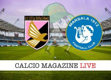 Palermo Marsala cronaca diretta live risultato in tempo reale