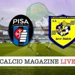 Pisa Juve Stabia cronaca diretta live risultato in tempo reale