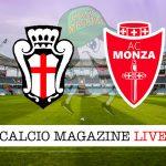 Pro Vercelli Monza cronaca diretta live risultato in tempo reale