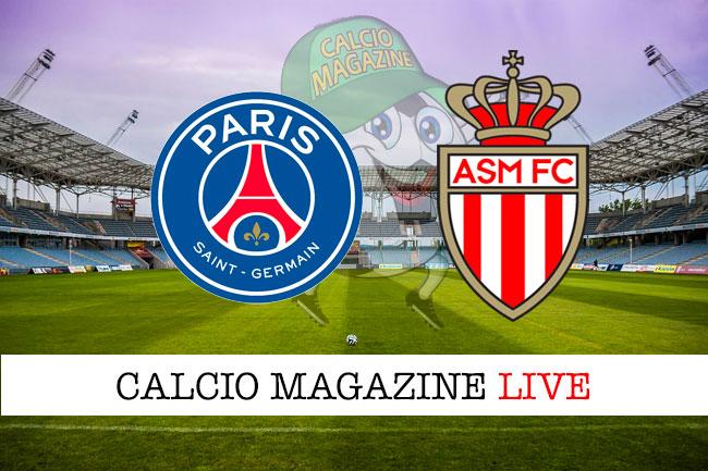 PSG Monaco cronaca diretta live risultato in tempo reale
