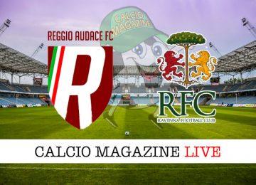 Reggio Audace Ravenna cronaca diretta live risultato in tempo reale