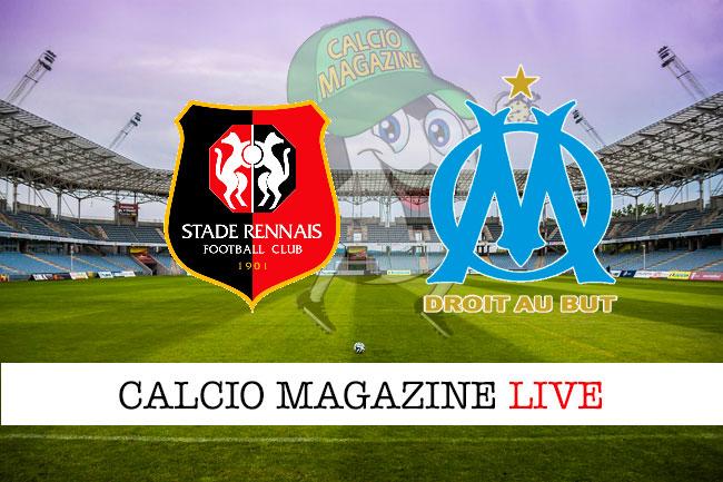 Rennes Marsiglia cronaca diretta live risultato in tempo reale
