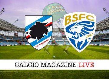 Sampdoria Brescia cronaca diretta live risultato in tempo reale