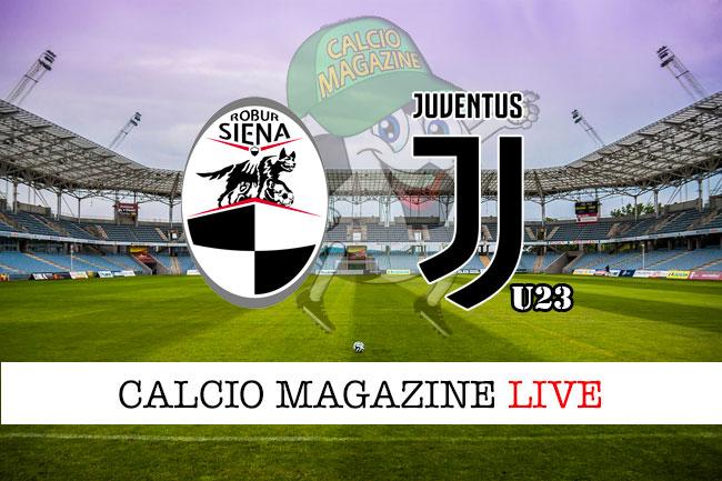 Siena Juventus U23 cronaca diretta live risultato in tempo reale