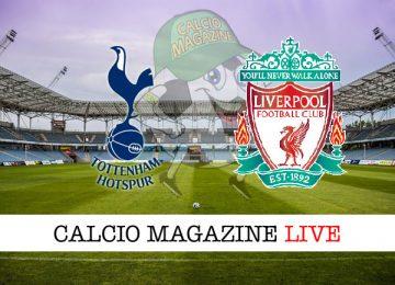 Tottenham Liverpool cronaca diretta live risultato in tempo reale