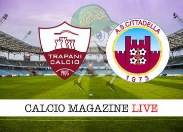 Trapani Cittadella cronaca diretta live risultato in tempo reale