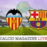 Valencia Barcellona cronaca diretta live risultato in tempo reale