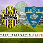 Verona Lecce cronaca diretta live risultato in tempo reale