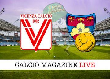 Vicenza Gubbio cronaca diretta live risultato in tempo reale