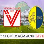 Vicenza Modena cronaca diretta live risultato in tempo reale
