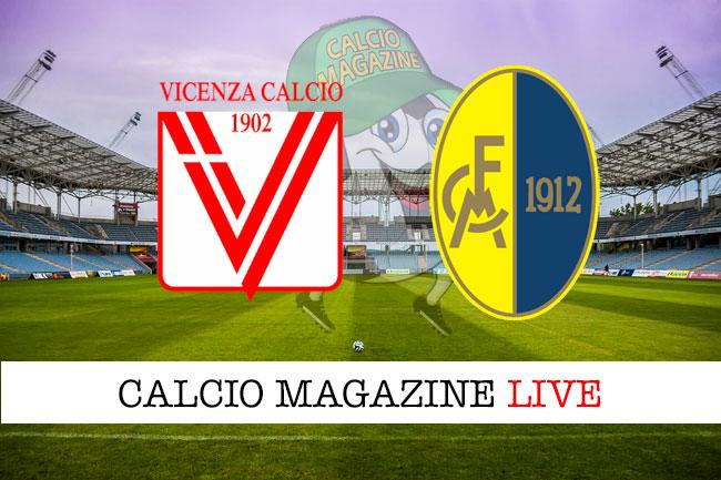 Diretta L R Vicenza Modena 1 0 Risultato Finale Tabellino