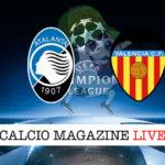 Atalanta Valencia cronaca diretta live risultato in tempo reale