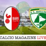Bari Avellino cronaca diretta live risultato in tempo reale