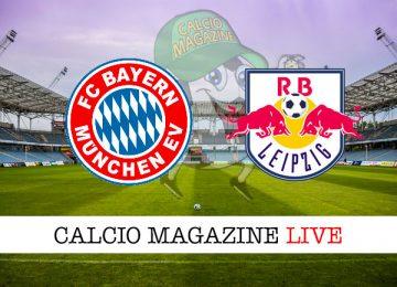 Bayern Monaco Lipsia cronaca diretta live risultato in tempo reale