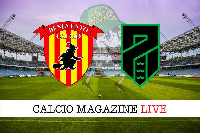 Benevento Pordenone cronaca diretta live risultato in tempo reale