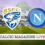 Brescia Napoli cronaca diretta live risultato in tempo reale