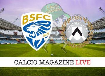 Brescia Udinese cronaca diretta live risultato in tempo reale