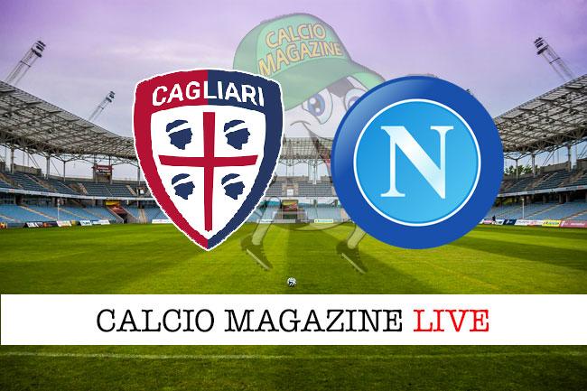 Cagliari Napoli cronaca diretta live risultato in tempo reale