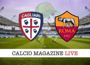 Cagliari Roma cronaca diretta live risultato in tempo reale