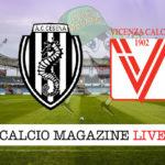 Cesena Vicenza cronaca diretta live risultato in tempo reale