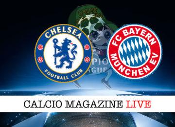 Chelsea Bayern Monaco cronaca diretta live risultato in tempo reale