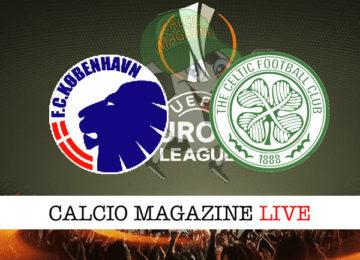 Copenaghen Celtic cronaca diretta live risultato in tempo reale