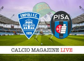 Empoli Pisa cronaca diretta live risultato in tempo reale