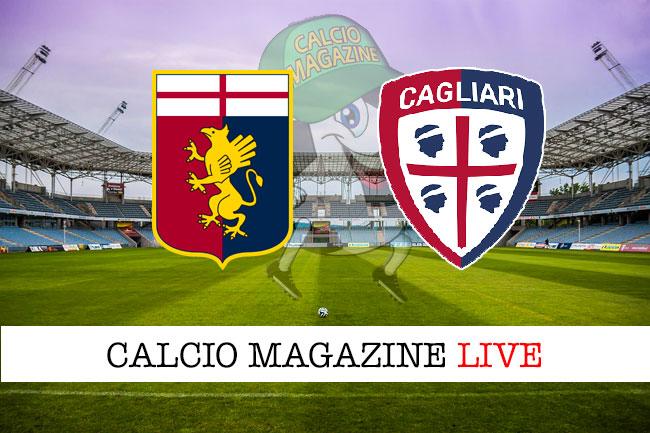 Genoa Cagliari cronaca diretta live risultato in tempo reale