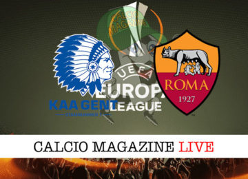 Gent Roma cronaca diretta live risultato in tempo reale