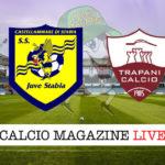 Juve Stabia Trapani cronaca diretta live risultato in tempo reale