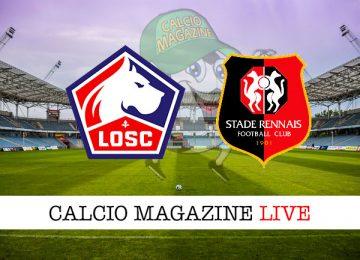 Lilla Rennes cronaca diretta live risultato in tempo reale