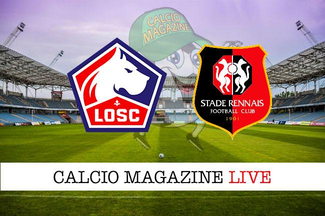 Lille Rennes cronaca diretta live risultato in tempo reale