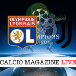 Lione Juventus cronaca diretta live risultato in tempo reale