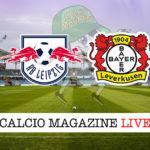 Lipsia Bayer Leverkusen cronaca diretta live risultato in tempo reale