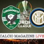 Ludogorets Inter cronaca diretta live risultato in tempo reale