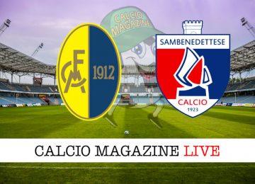 Modena Sambenedettese cronaca diretta live risultato in tempo reale