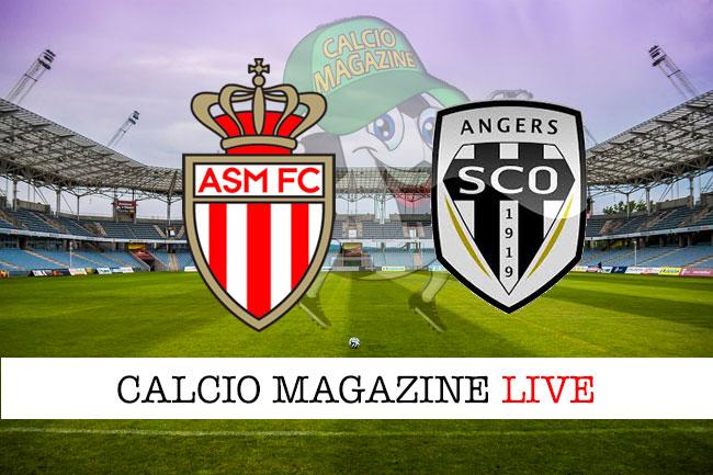 Monaco Angers cronaca diretta live risultato in tempo reale