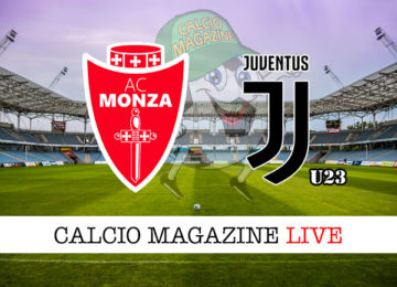 Monza Juventus under 23 cronaca diretta live risultato in tempo reale