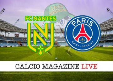 Nantes PSG cronaca diretta live risultato in tempo reale