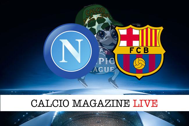 Napoli Barcellona cronaca diretta live risultato in tempo reale