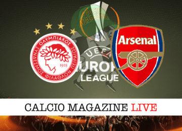 Olympiacos Arsenal cronaca diretta live risultato in tempo reale