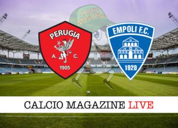 Perugia Empoli cronaca diretta live risultato in tempo reale