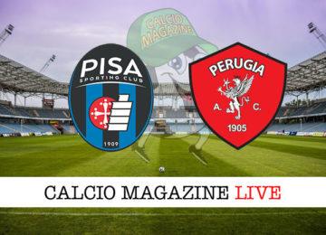 Pisa Perugia cronaca diretta live risultato in tempo reale
