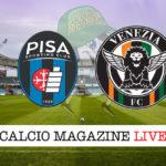 Pisa Venezia cronaca diretta live risultato in tempo reale
