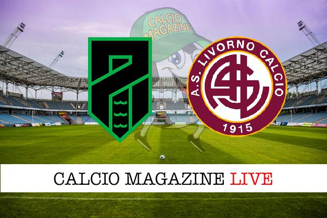 Pordenone Livorno cronaca diretta live risultato in tempo reale
