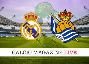 Real Madrid Real Sociedad cronaca diretta live risultato in tempo reale